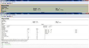 Pantalla Software CHOICEMMED